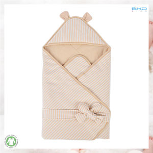Softness Baby Accessory Stripe Color Baby Swaddle pictures & photos