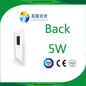 Best Price High Efficiency 3watt/5watt Solar Modules pictures & photos