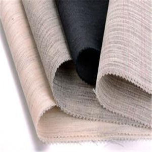 200GSM Heavy Shoulder Pads Buckram Horse Hair Woven Canvas Interlining pictures & photos