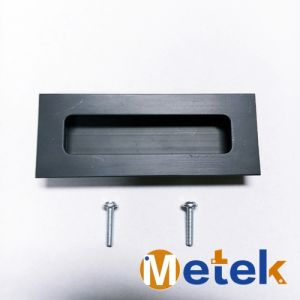 Classical Fashionable Finish Flat Sliding Door Handle pictures & photos