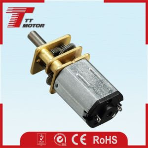 12V high torque DC gear motor for Circuit Breakers pictures & photos