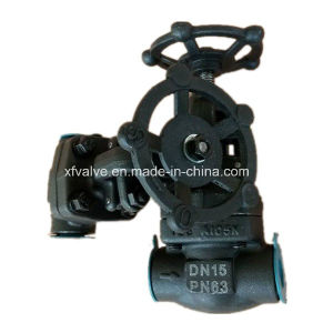 DIN Forged Carbon Steel A105 Thread End NPT Globe Valve pictures & photos