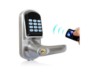 Password Safe Door Lock with Password Keypad, Key Unlock, Low Voltage Alarm, Support RFID Card (UL-300MF/P) pictures & photos
