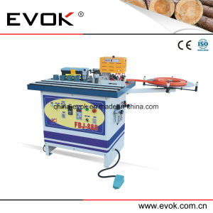 Hand Manual Double-Face Gluing Curve & Straight PVC Edge Banding Machine Fbj-888 pictures & photos