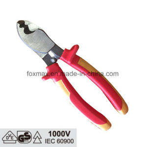 VDE 1000V Insulated Cable Wire Plier with TPR Handle pictures & photos