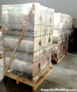 12mic Half Metallized BOPET Film Visual Food Packing pictures & photos