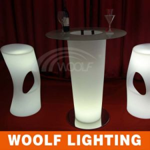Glow Table for Event LED Lighting Furniture LED High Bar Stool pictures & photos