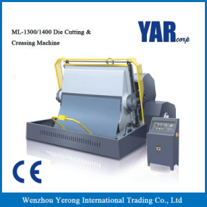 High Quality Ml Series Die Cutting and Creasing Machine with Ce pictures & photos