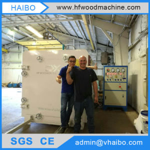 High Speed Dry Wood Board Vacuum Drying Machine in Haibo