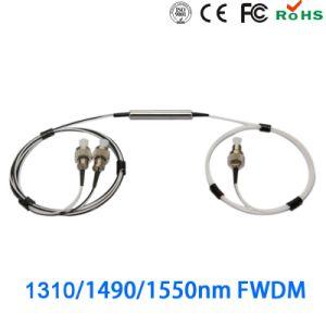 CATV EDFA Passive Bare Fiber T1550nm R1310nm/1490nm Fwdm pictures & photos