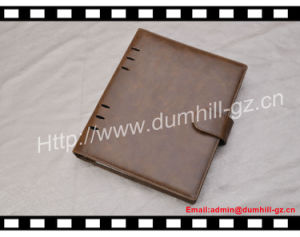 High Quality PU A5 Document Folder with Snap Closure pictures & photos