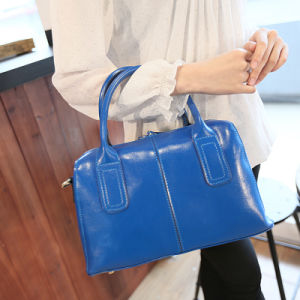 Genuine Leather Handbag Fashion Top Handle Bag Shoulder Tote Bag pictures & photos