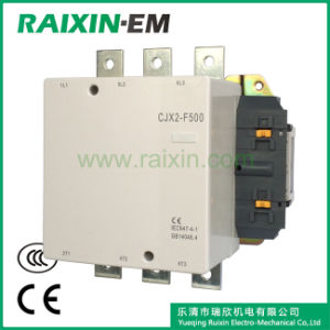 Raixin Cjx2-F500 AC Contactor 3p AC-3 380V 250kw Magnetic Contactor pictures & photos