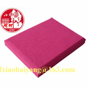 Heat Insulation Materials Cloth Fabric Acoustic Panel Wall Panel Ceiling Panel Decoration Panel pictures & photos