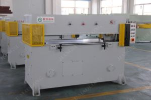 Automatic Hydraulic Cutting Machine for Square Floor Tiles and Wall Bricks pictures & photos