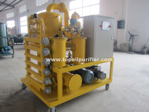 Double-Stage Vacuum Transformer Oil Insualting Oil Purification Equipment (ZYD) pictures & photos