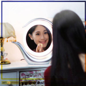 Professional Double Sides Makeup Lighted Mirror 1X/7X Magnifying Makeup Mirror with LED Light pictures & photos
