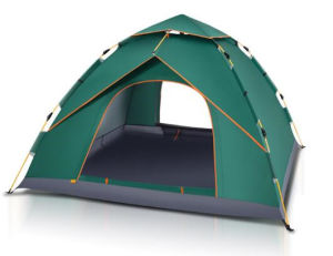 Spring and Summer Outdoor Automatic Tent 3-4 Person Camping Tent pictures & photos