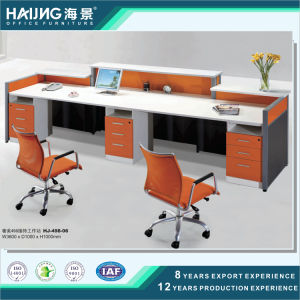Popular Wooden Cubicle Office Reception Table