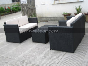 Mtc-118 PE Outdoor Sofa Set Furniture Garden Deluxe Rattan 4 Piece Furniture Set pictures & photos