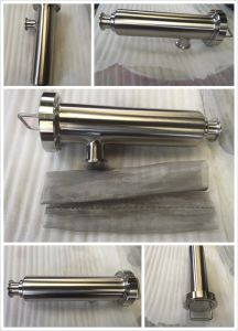 """3"""" Stainless Steel Ss316L Hygienic Angle Type Strainer Filter pictures & photos"""