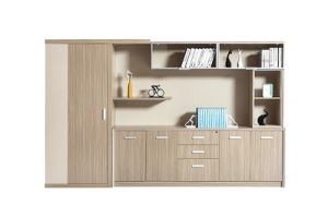Simple and Elegant Latest Customized Office Book Cabinet Design pictures & photos