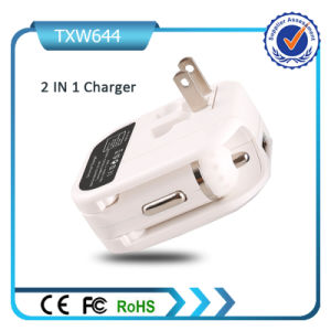 5V 2A Dual USB Ports Car and Wall Charger