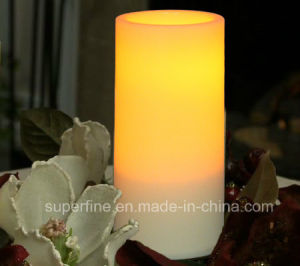 Beautiful Battery Operated Christmas LED Plastic Candles for Decoration pictures & photos