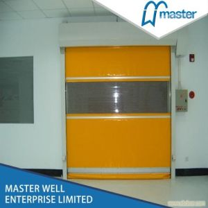 Roller Shutter PVC Doors with Customized Size/Fast Speed Rolling Shutter Door pictures & photos