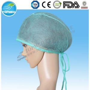 Disposable PP Nonwoven Blue Doctor Cap pictures & photos