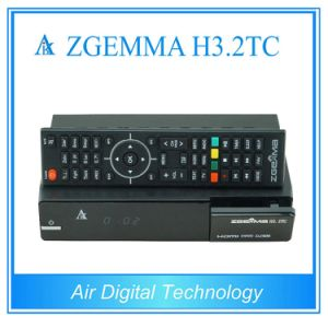 Powerful Satellite/Cable Receiver Zgemma H3.2tc FTA Linux OS Enigma2 DVB-S2+2xdvb-T2/C Dual Combo Tuners pictures & photos