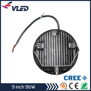 LED Light 9′′ CREE LED Driving Light (IP68 4X4 Offroad Lamp Round CREE 9inch Work 96W 160W 185W) pictures & photos