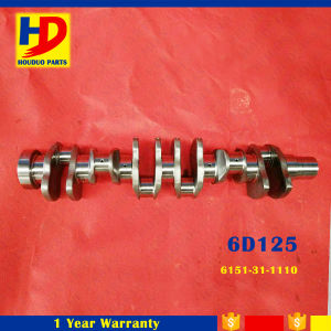 6D125 Engine Set Crankshaft for Komatsu (6151-31-1110) pictures & photos