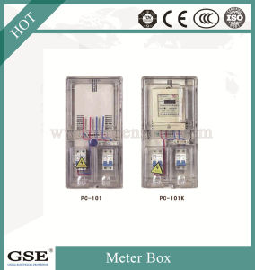 Pre-Paid Single Phase Two Meter Box (card) pictures & photos