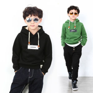 High Quality Stylish Soft Cotton Fleece Children Hoodies pictures & photos