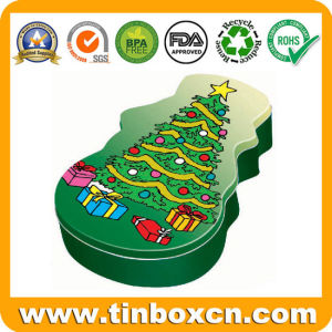 Christmas Tin, Xmas Tin Box, Tin Can, Christmas Gift Tin pictures & photos