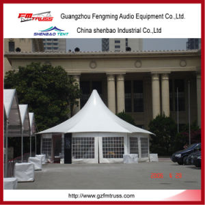 5X5m Pagoda Shaped Tent for Party pictures & photos