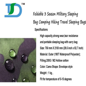 Wholesale Camouflage Thick Sleeping Camping for Hiking Outdoor pictures & photos