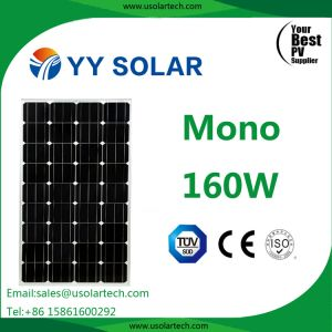Per 160W 170W 150 Watt 18V Solar Panel for Street Light Sets pictures & photos