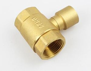 Dn25 Brass Tee Joint Fitting pictures & photos