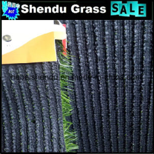 Waterproof 25mm U Shape Artificial Grass with Drainage Holes pictures & photos