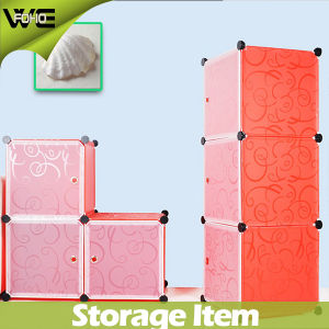 Creative Solid Color Stylish Plastic Storage Box for Storage pictures & photos