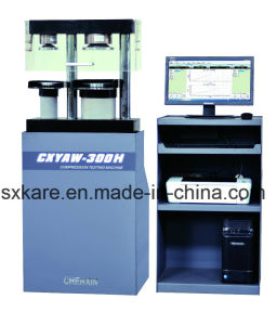 0.5 Grade Computerized Electro-Hydraulic Servo Cement Flexure and Compression Testing Machine (CXYAW-300H) pictures & photos