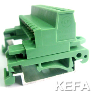 Plug-in Terminal Block with DIN Rail for Wire to Wire Connection pictures & photos