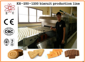 Kh-250 Small Biscuit Machine for Food Factory pictures & photos