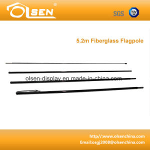 5.2m Fiberglass Flagpole for Exhibition pictures & photos