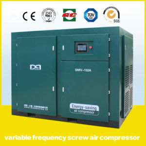 132kw Permanent Magnetic Variable Frequency Oil Injected Air Compressor pictures & photos