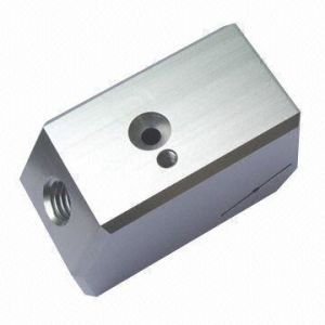 Custom Made High Quality Silver Iron Mechanical Parts (milling, turning, painting, anodizing, bending, die casting) pictures & photos