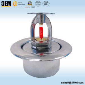 Pendent Vertical Fire Sprinkler with Escutcheon Plate pictures & photos