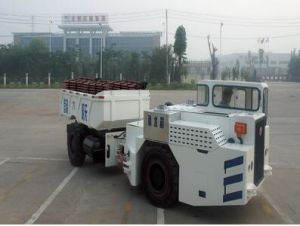 10t Mining Explosion-Proof Trackless Rubber-Tyred Vehicle pictures & photos